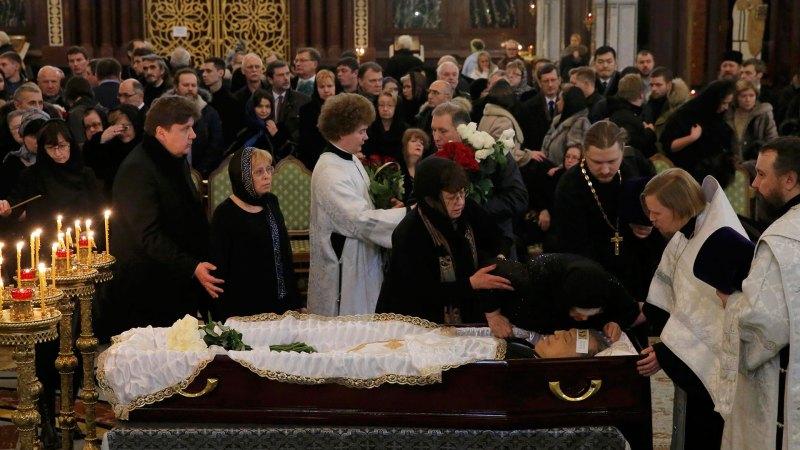 Varios líderes políticos y funcionarios de alto nivel participaron en el funeral (Reuters)
