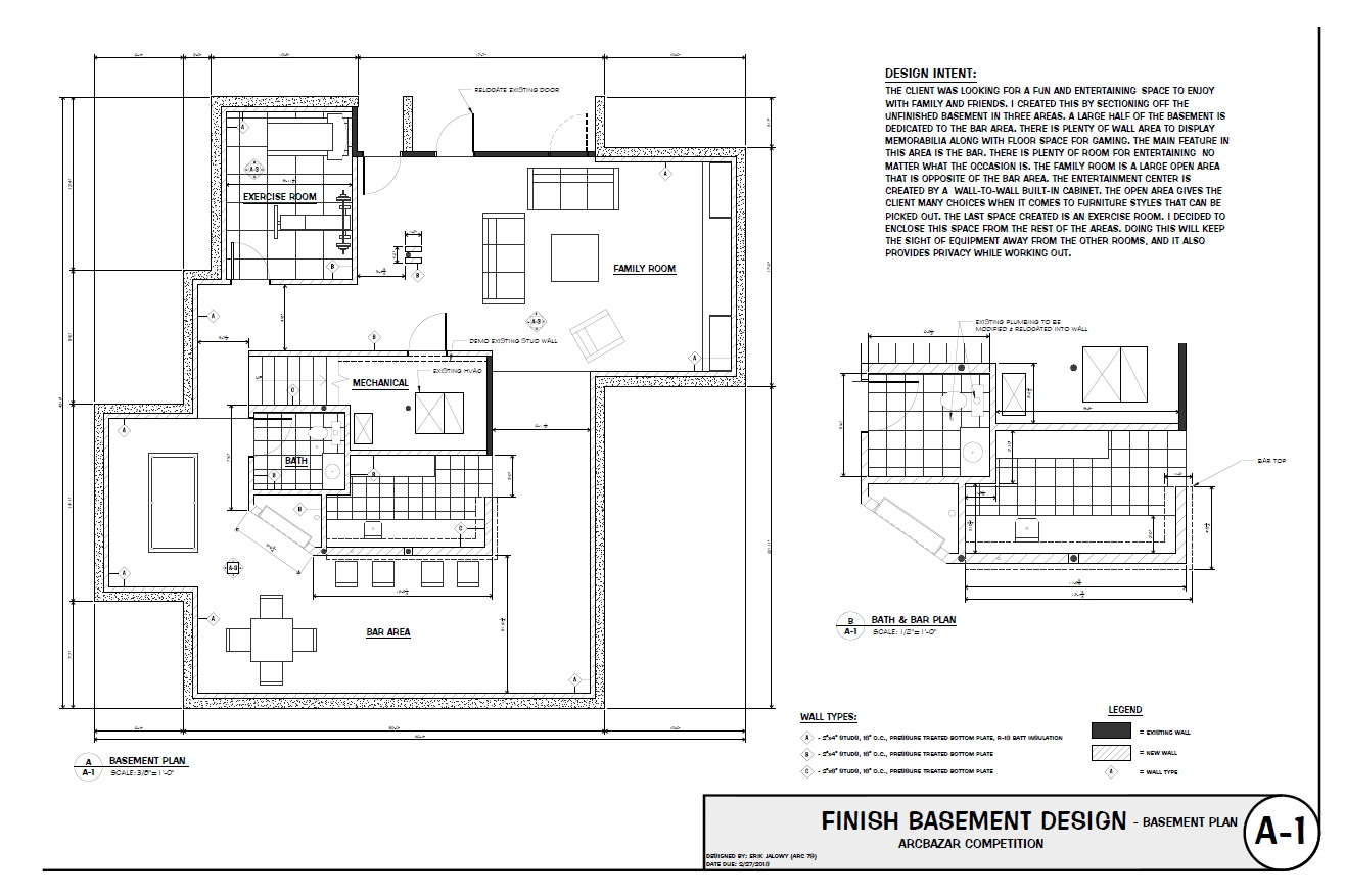 Basement Remodeling Floor Plans Smart Placement Basement Finishing Floor Plans Ideas