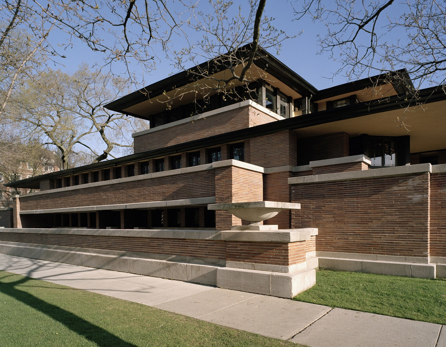 Frank Lloyd Wright Robie House Buildings Of Chicago Chicago Architecture Center Cac