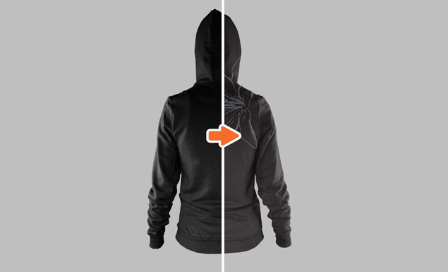 Pullover Hoodie Mockup Templates Pack Ladies Ghosted Hoodie Mockup Templates Pack