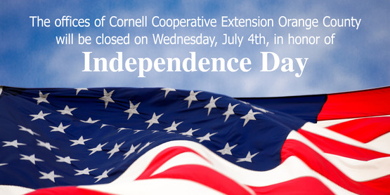 Cornell Cooperative Extension 4th of July Closing