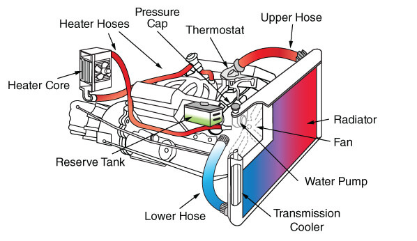 Checking Your AC and Coolant Systems - Know Your Parts