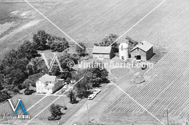 Vintage Aerial South Dakota Minnehaha County 1969 2-BMI-33