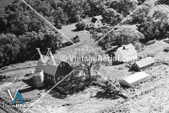 Vintage Aerial South Dakota Minnehaha County 1969 14-BMI-33