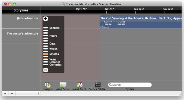 StoryMill for Macintosh