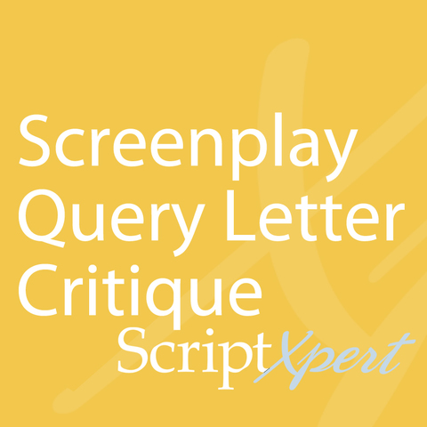 2nd Draft Screenplay Query Letter Critique