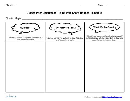 Think-Pair-Share UDL Strategies