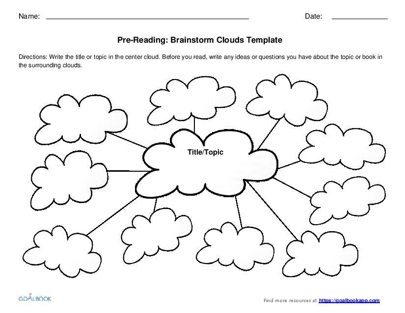 brainstorm template - Apmayssconstruction