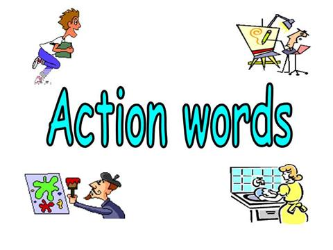 Action Words / VerbsauthorSTREAM