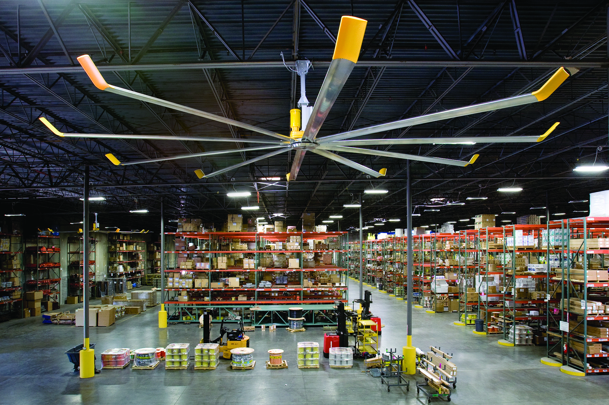 Big Ceiling Fans Australia Warehouse Distribution Big Ass Fans Australia