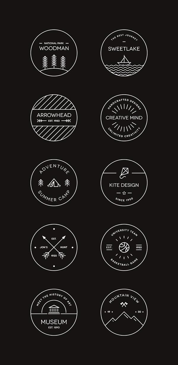 10 vector badge templates for designing logos\u2014free! Inside Design Blog