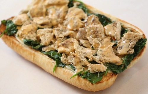 Teal Grass Sub From Hot Sub Stars Buffalo News Home Hoagie Delivery Home Hoagy Steak Recipe Ken
