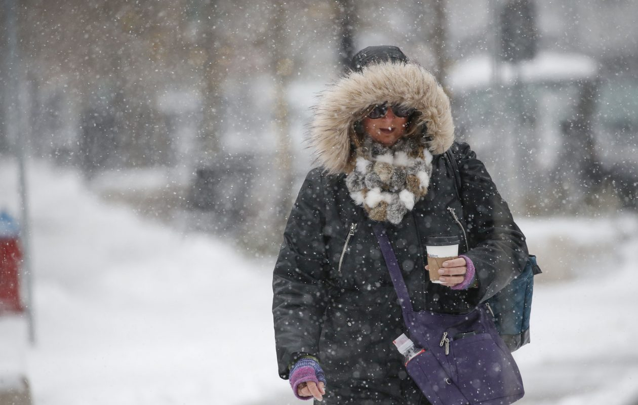 Like Weather What Another Wintry Wednesday Snow Subzero Wind Chills Forecast