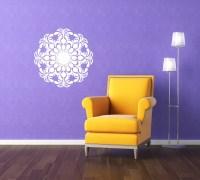 Organic Symmetrical Medallion - Vinyl Wall Art Decal ...