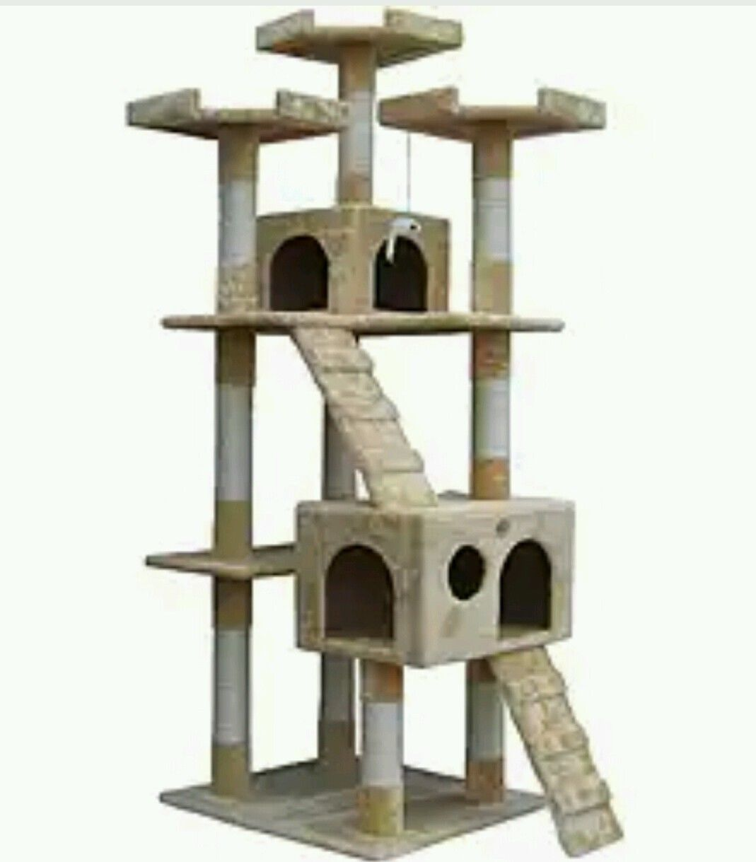 Cat Tree Houses Indoor Scratching Tree Large Cat Kitty Play House Go Pet Club