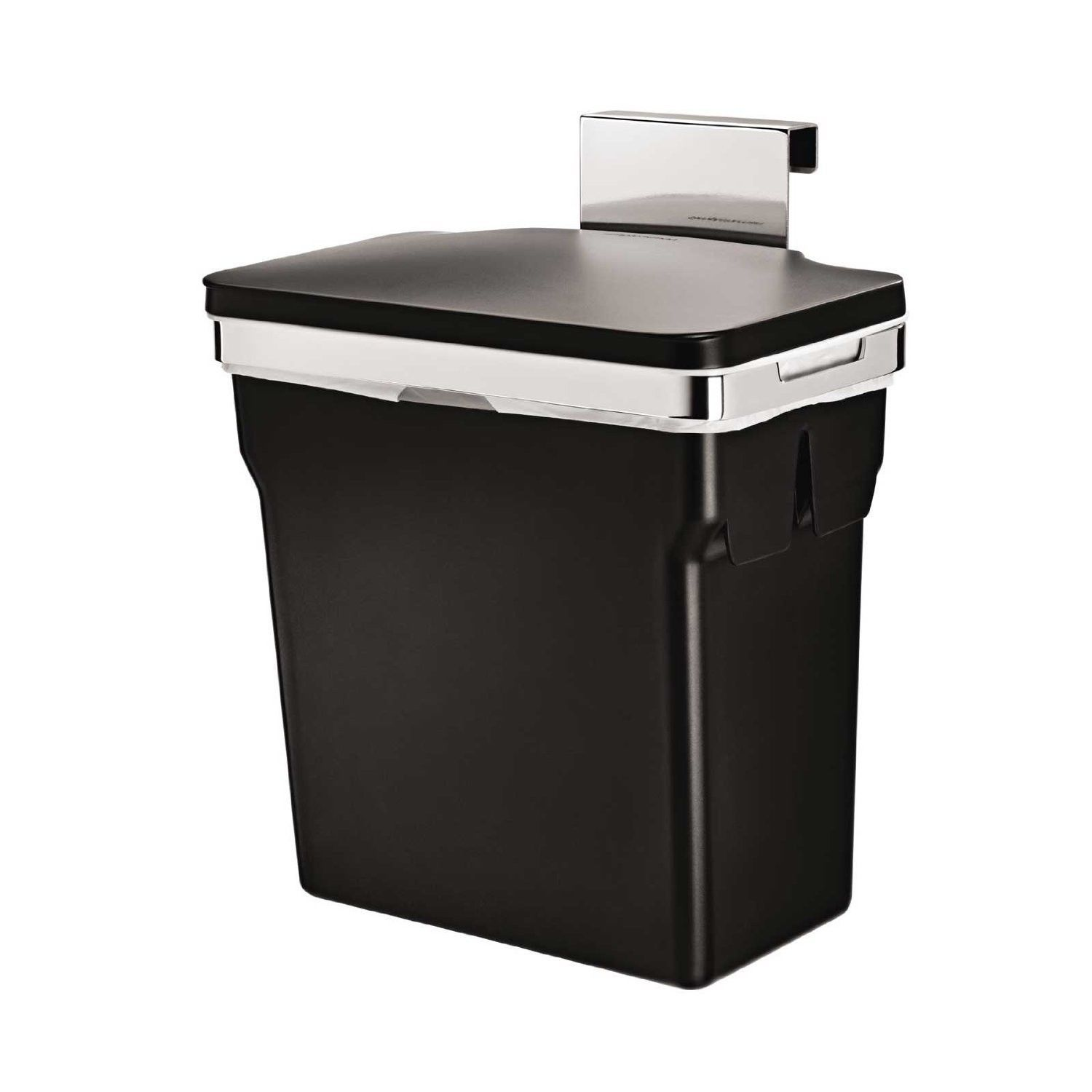 Kitchen Cabinet Trash Bin Gallon In Cabinet Trash Can Hanging Cabinet Mount Waste