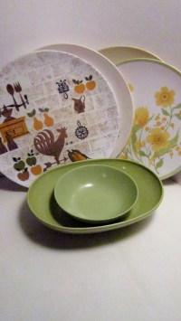 Melamine Plates And Bowls. Gibson Studio 94995.12 Mauna 12 ...