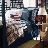 Ralph Lauren TALMADGE HILL Plaid 7P Queen Comforter Set ...