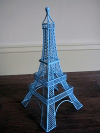 NEW Eiffel Tower Earring Holder Display Stand LIGHT BLUE ...