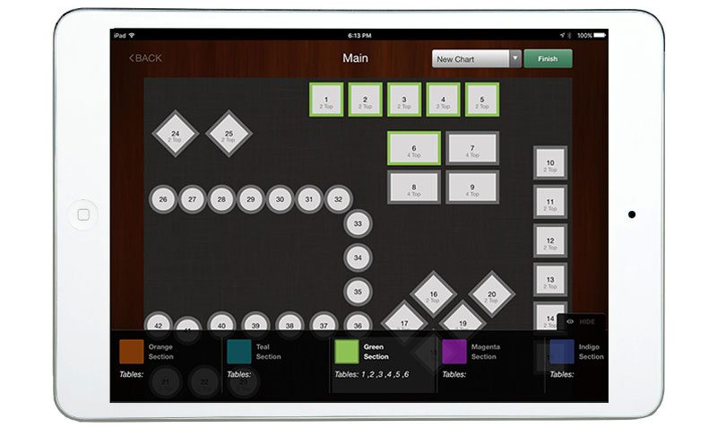 Restaurant Table Management Software CAKE by Sysco