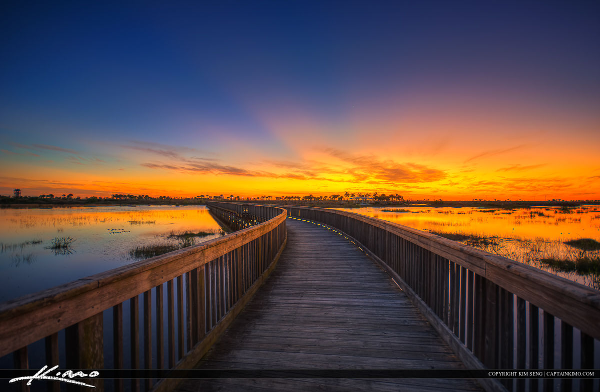 Facebook Cover Wallpaper Quotes Wellington Environmental Preserve Sunset At Boardwalk