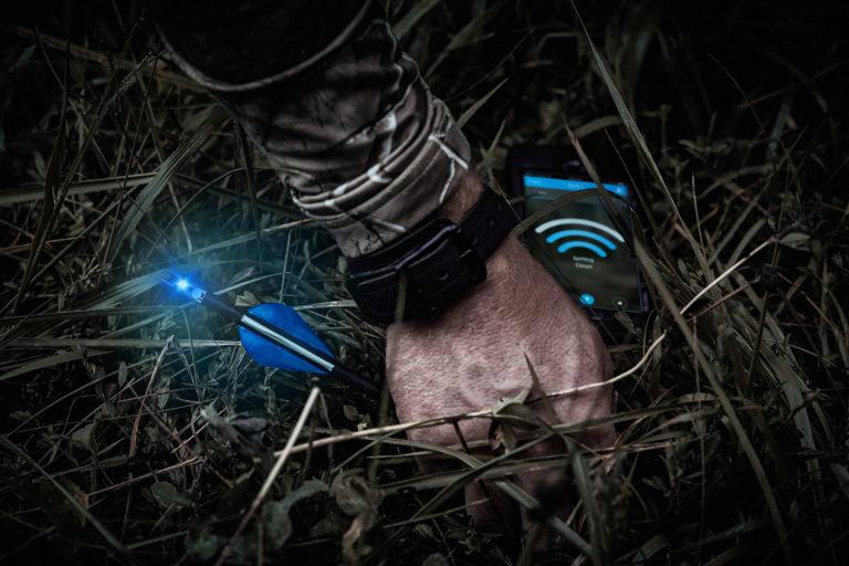 Trackable Bluetooth Lighted Nock - Breadcrumb