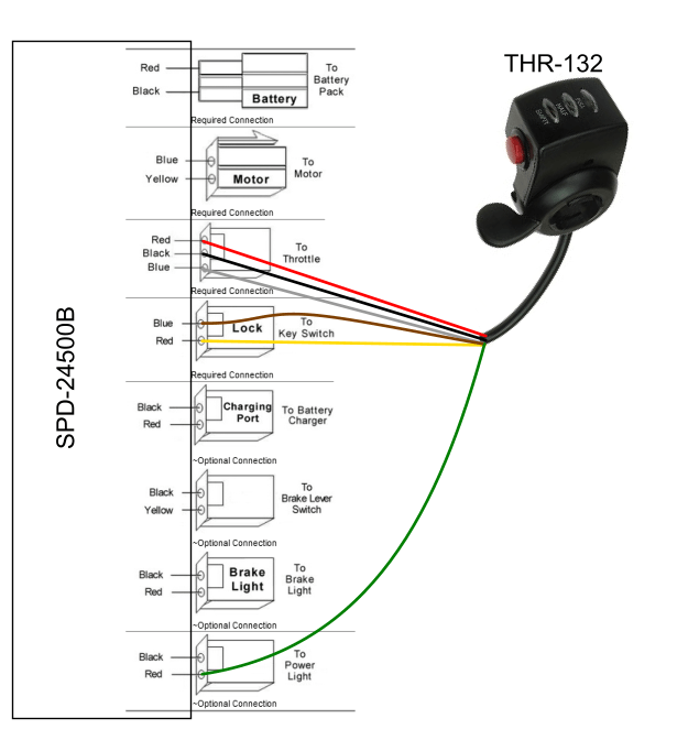 no electric scooter controller wiring diagram