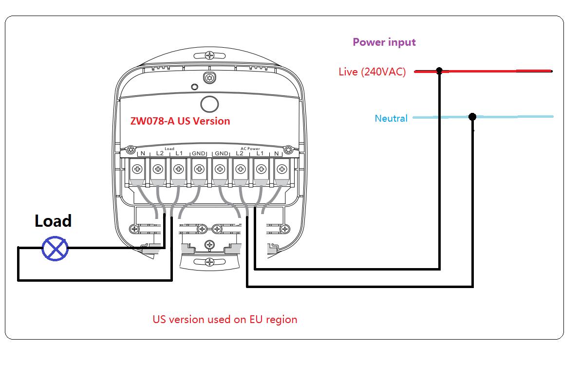 240vac wiring diagram