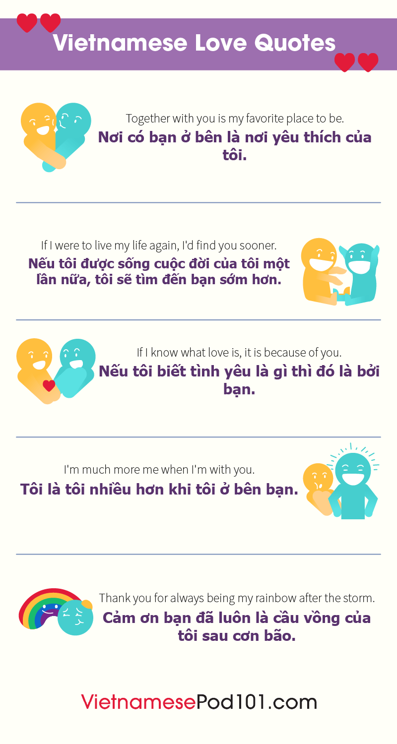 5. Vietnamese Quotes about Love