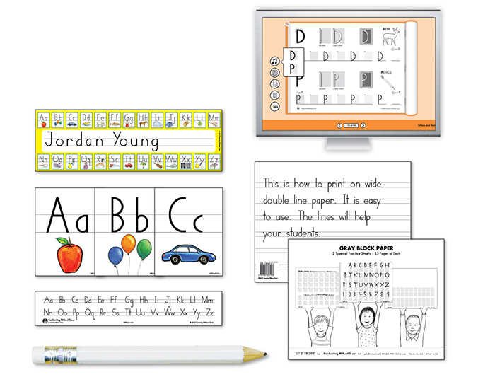 Kindergarten Teacher Kit B with HITT Learning WIthout Tears