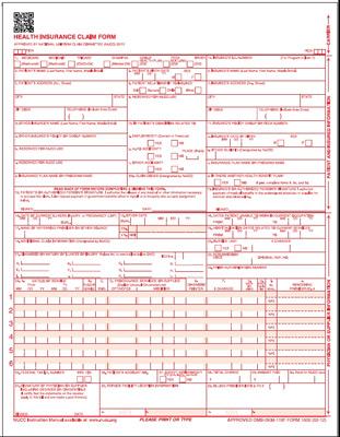 CMS-1500 Health Insurance Claim Forms (Version 02\/12) Medical - medical claim form