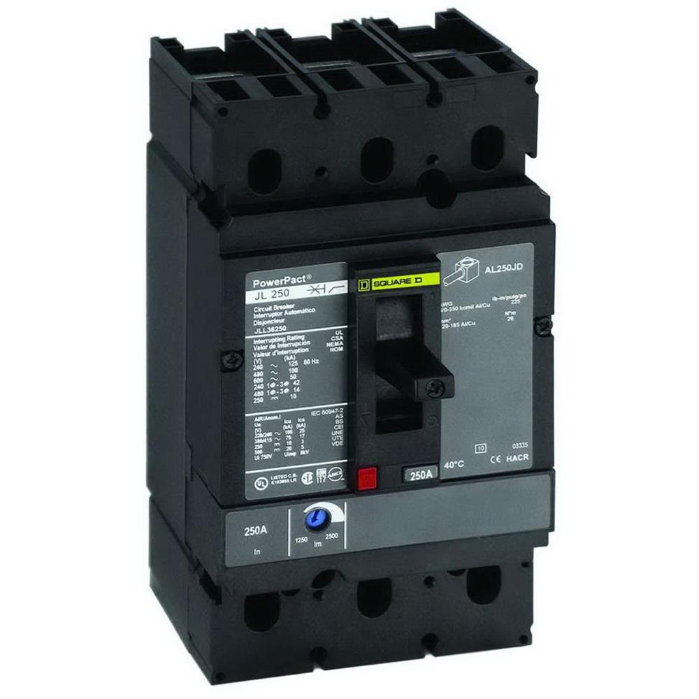 Schneider Electric Square D Fal34100 Circuit Breaker Auto Fal3605016m Adjustable Instantaneous Trip Photo 1 Lja36400u31x I