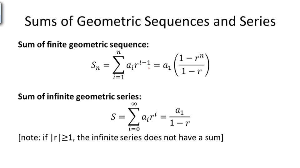Geometric Series CK-12 Foundation
