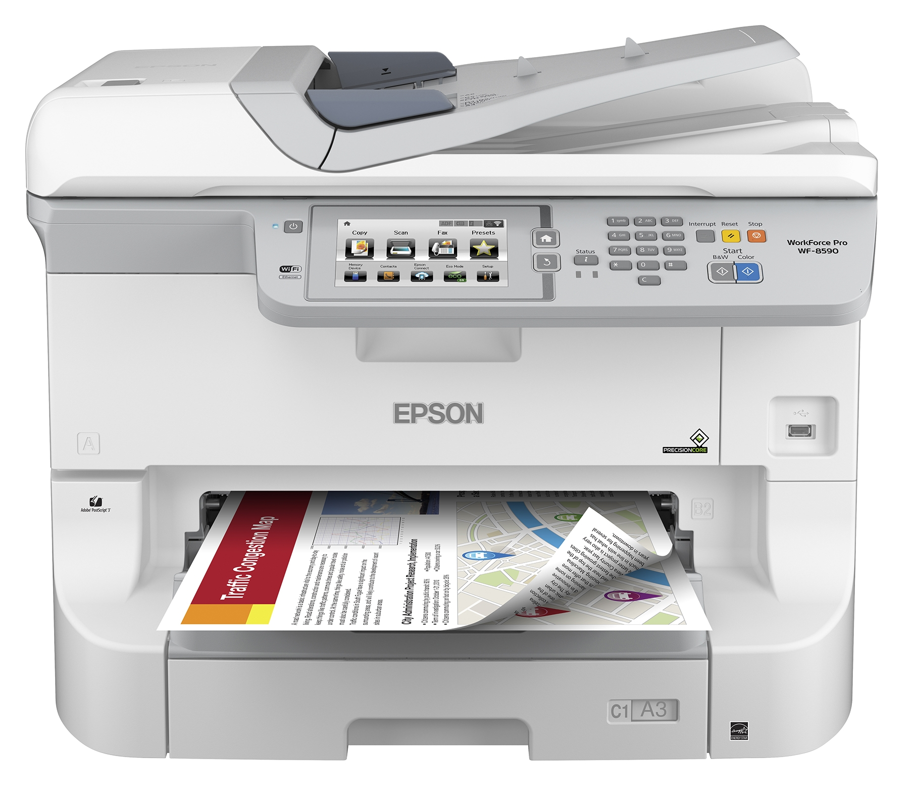 A3 Photo Printing Epson Introduces Heavy Duty A3 Color Workgroup Printer And Mfp