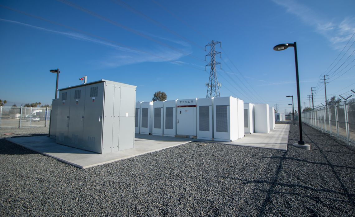 Innovative Battery Storage Facility At Sces Mira Loma