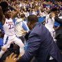 Kansas And Kansas State Basketball Game Ends In All Out