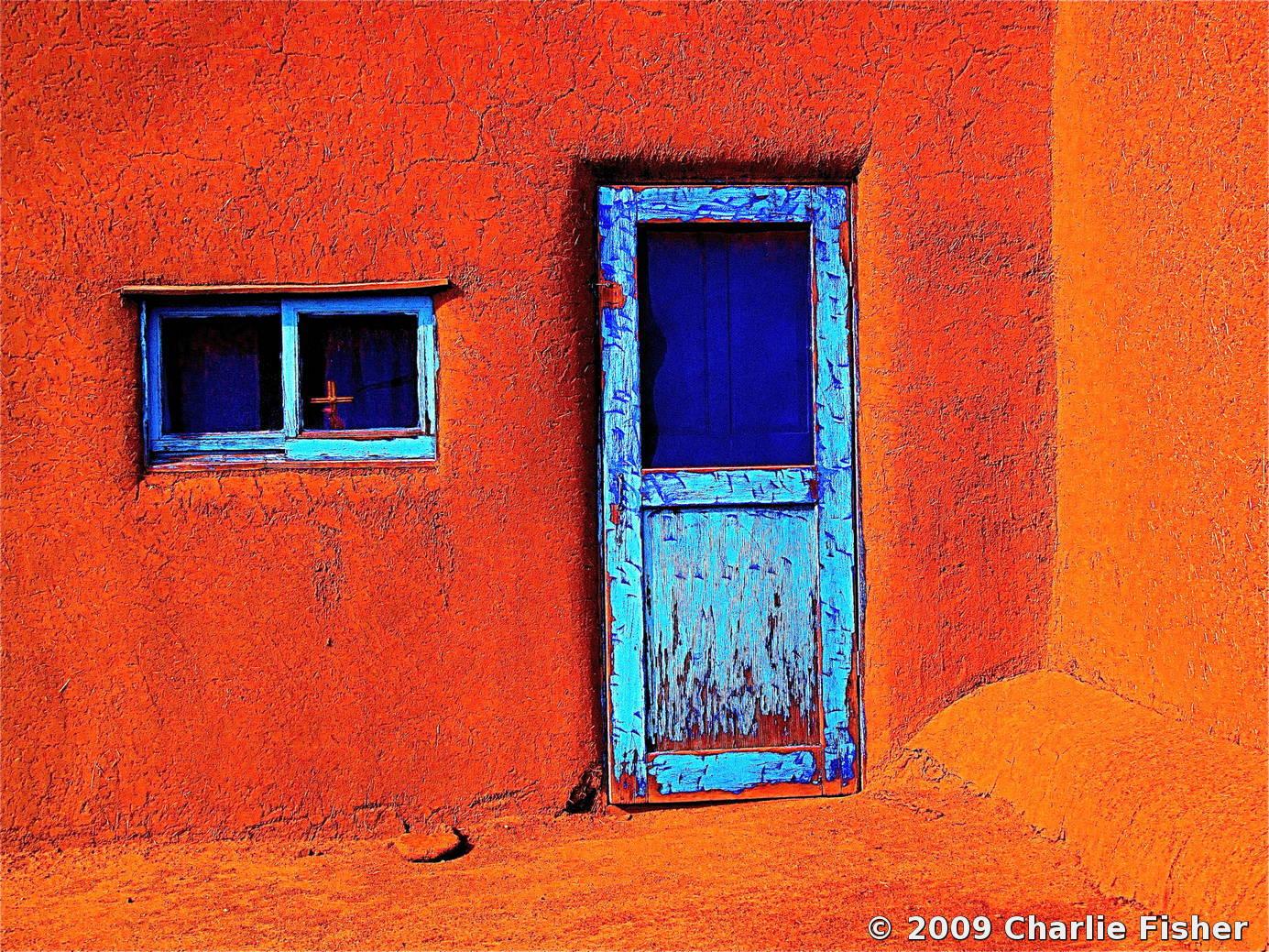 Black Home Wallpaper Taos Pueblo Door New Mexico By Charlie Fisher Black