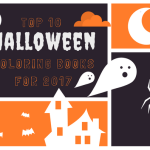 10 Coloring Books for Halloween Coloring