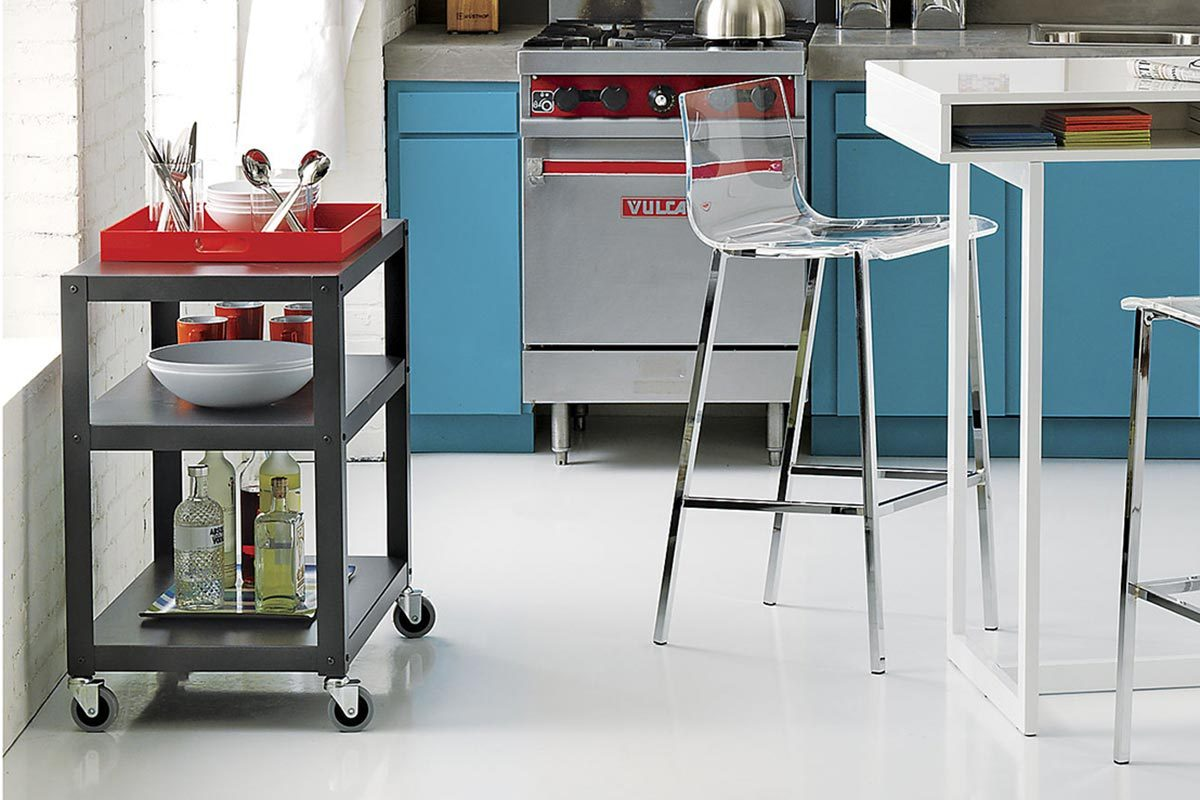 portable kitchen islands kitchen side table Also featured in our list of favorite accent and side tables this is a great budget solution for those looking to add some supplemental storage and surface