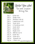 Thumbnail two week scripture writing plan