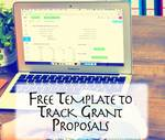 Free-template-to-track-grant-groposals