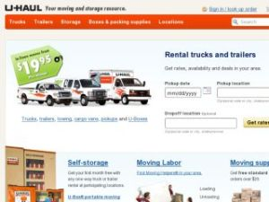 Uhaul truck rental coupon code