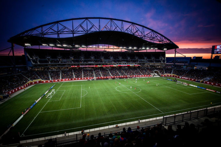 Inaugural Season Ticket Pricing Announced Valour Fc - Voetbal Behang Stadion