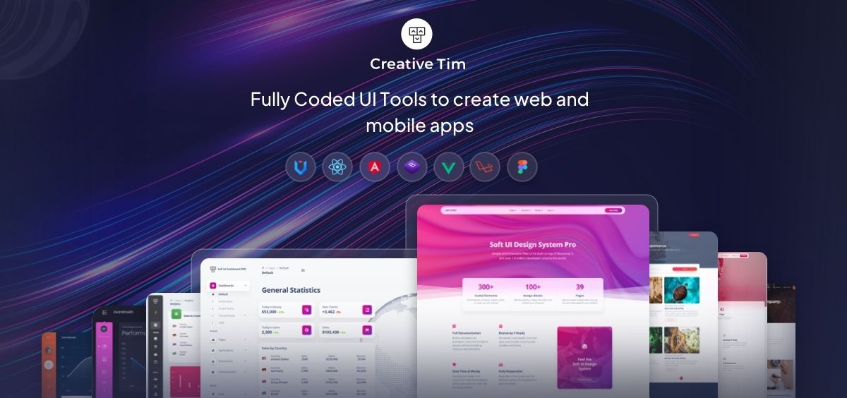 Premium Bootstrap Themes and Templates Download @ Creative Tim