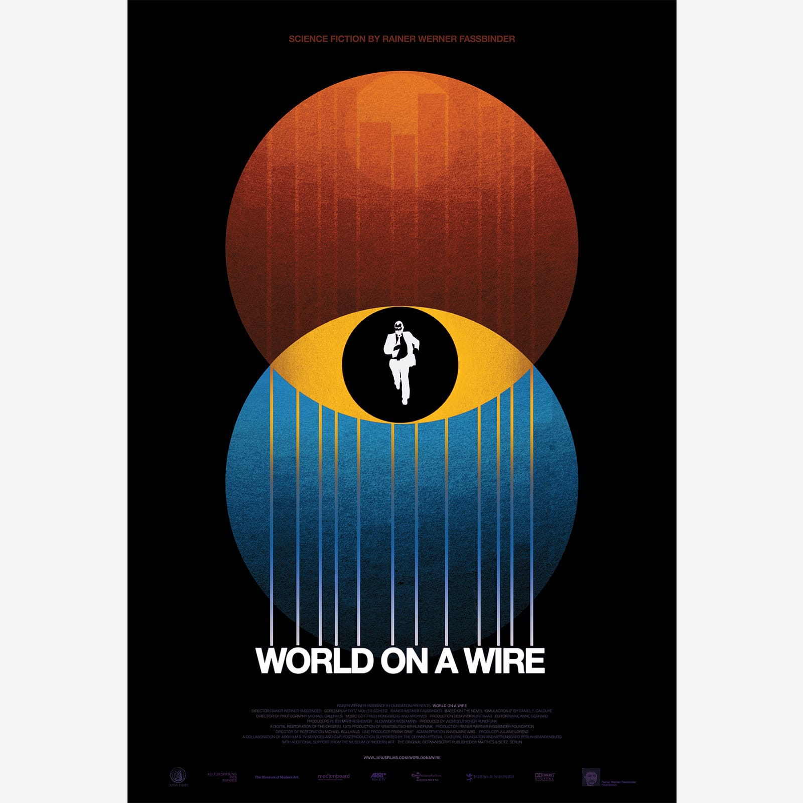 Poster Of The World The Criterion Collection World On A Wire Poster
