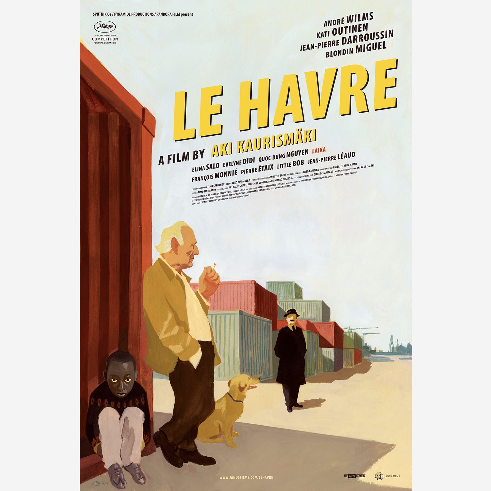 Arte France Productions The Criterion Collection Le Havre Poster