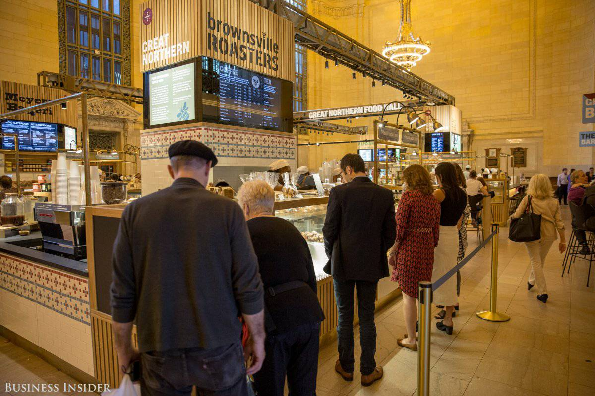 Cucina New York Grand Central General Manager At Great Northern Food Hall Culinary Agents