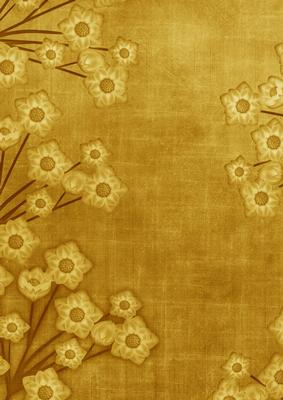 Cute Pattern Wallpaper Free Floral Border Vintage Gold A4 Backing Paper Cup238302 10