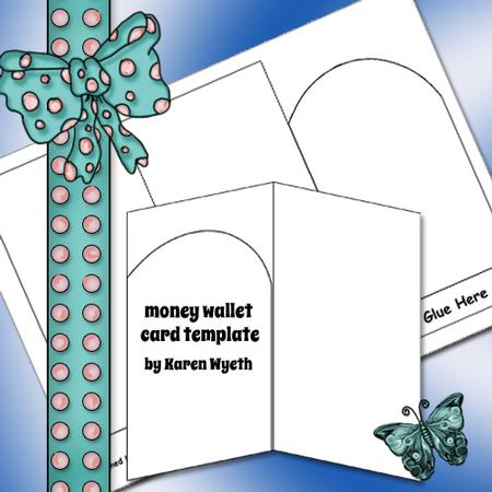 Money Wallet Card Template - CUP465511_1056 Craftsuprint