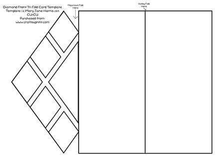 tri fold card template - Onwebioinnovate - Tri Fold Card